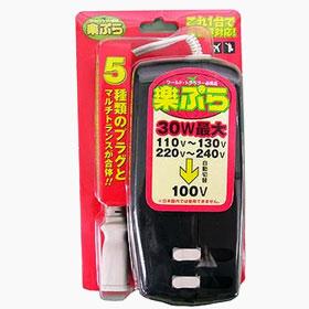 東江物産 RX-30 楽ぷら マルチ型ダウントランス
