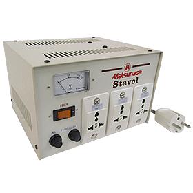松永製作所 SVC-1000N-J 安定化機能付き変圧器